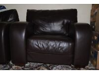 SOFA: 1 seater chair £100. Length: 103cm, height: 86cm and depth: 92cm). Very good condition.