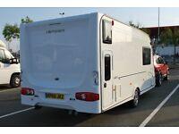 Touring Caravan-Compass Corona 464 with rear fixed bunks 4 berth (Made by Explorer who make Elddis)
