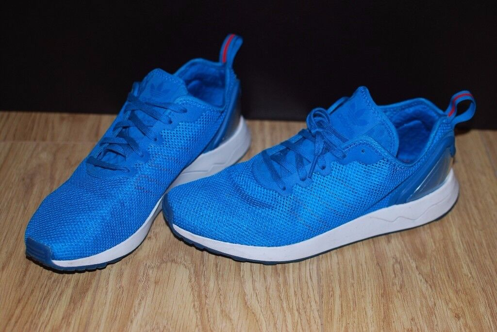 33a4ef3ec Men s Adidas Originals Zx Flux Adv Sl Low rise Trainers in Blue size 8 ...