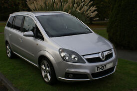 Vauxhall Zafira SRI 150 bhp diesel