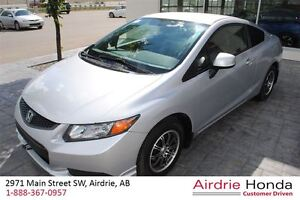 2012 Honda Civic LX (A5) *Local Trade-In, One Owner*