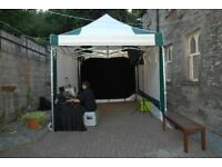 3M x 4.5M Professional Pop Up Gazebo from Nicoll Industries