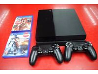 Sony Playstation 4 500GB bundle with 2 games and 2 pads £250