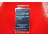 Roland SN-U110-07 Electric Guitar Sound Library PCM Data ROM for U110 £35