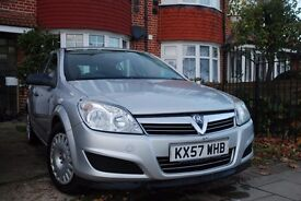 Vauxhall Astra 2008 (57 reg) new tyres, 1 year MOT very good condition!