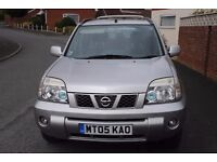 NISSAN X-TRAIL SPORT DCI ESTATE 2005 6 SPEED MANUAL MOT FSH £2295 SORRY PROVISIONALLY SOLD DEP PAID