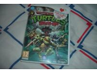 Teenage Mutant Ninja Turtles Smash-Up Nintendo Wii boxed complete