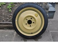 "Mazda 3 (2003-09) 15"" Toyo Space Saver Spare Wheel (E60 T115/70D15 90M)"