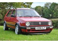 VW Golf Mk2 1,6 TD Turbo Diesel
