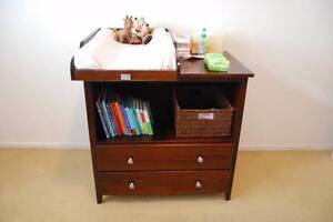 SUNBURY cot, change table, chest + additional items. Rose Bay Eastern Suburbs Preview
