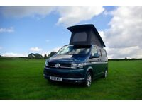 REDUCED! 66 VW TRANSPORTER T6 HIGHLINE CAMPERVAN (TAILGATE, LOW MILEAGE, 4 berth, AIR CON, SAT NAV)