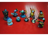 Various Skylanders Character Figures for Sale