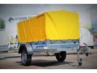 Brand new car box trailer