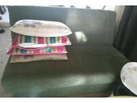 Metal action sofa bed, great condition!