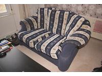 2 seat sofa - used but still useful - free - Sheffield Walkley