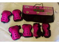 No Fear pink skate protection pack excellent condition (size medium)