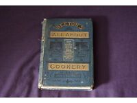 All About Cookery by Mrs. Beeton (Hardback)