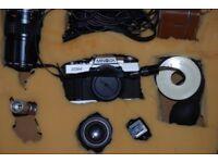 Minolta Camera & Accessories (Film Type Camera)