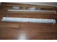 White venetian blind 2330mm long x 1200