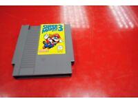 Nintendo NES Game Super Mario Bros 3 £20