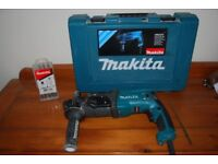 Makita SDS plus 3 function drill and case