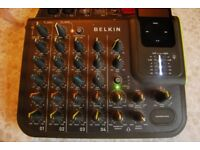 Belkin TuneStudio 4 channel Mixer