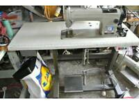 Toyota industrial sewing machine with table