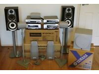 TECHNICS SC-EH790, YAMAHA YST-SW012 - Active Subwoofer, B TECH - Speakers stands