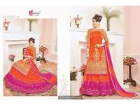 wholesale designer ghaghra type suit collection