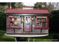 DOLLS HOUSE 'RARE OLDE WORLDE POST OFFICE' FOR COLLECTORS, A SID COOKE ORIGINAL