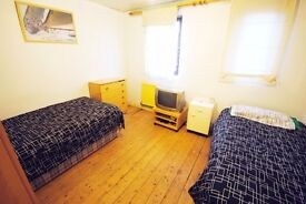 LOVELY TWIN ROOM TO RENT IN ARCHWAY AREA 2 MIN WALK TO THE UNDERGROUND STATION. 13BO