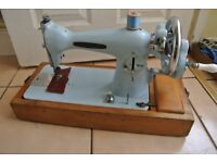 Pinnock sewing Machine with 2 Layers of leather sewn sample