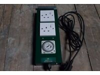 Green Power 2-Way 1200w switch and timer for grow room