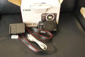 Canon EOS M2 Mirrorless Camera