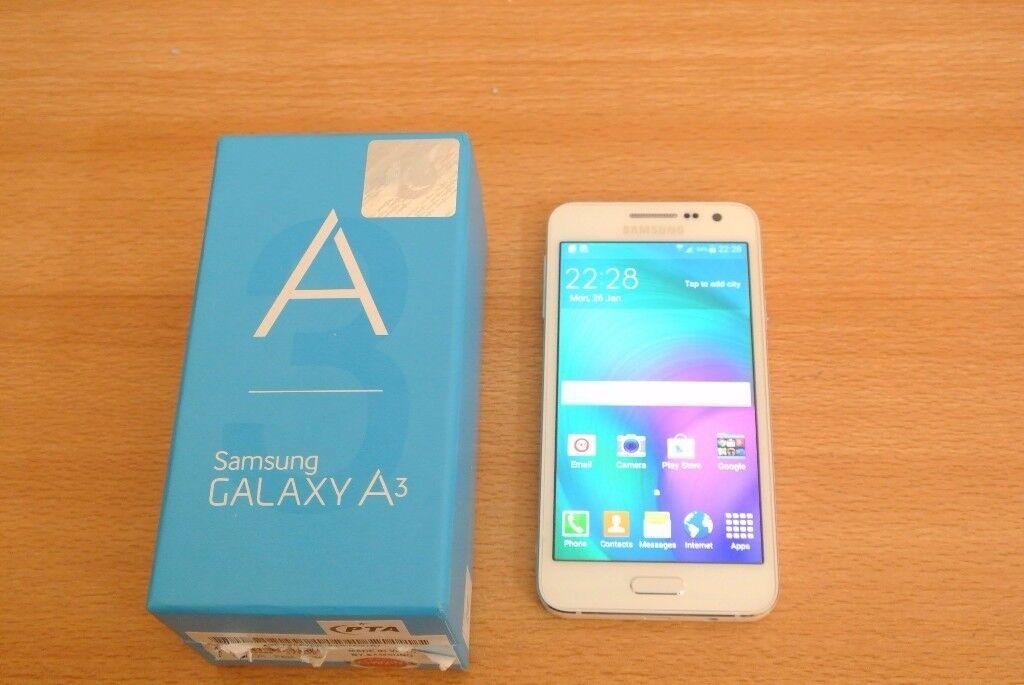 Samsung Galaxy A3 -2015 - 16GB - White Unlocked