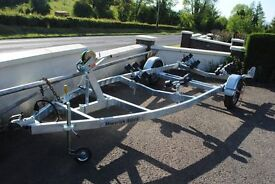 New boat trailer ( speed rib fishing) ----2 Year warranty 750kg unbraked