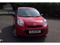 Nissan Micra Visia 1.2l 2012 - 5 Doors, Bluetooth and Air Conditioning!