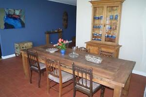 rustic dining tables from recycled timber Gooseberry Hill Kalamunda Area Preview