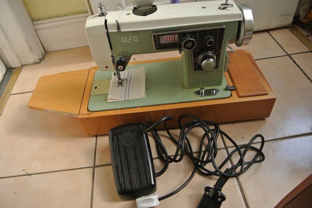 Alfa Zig-zag Straight Sewing Machine