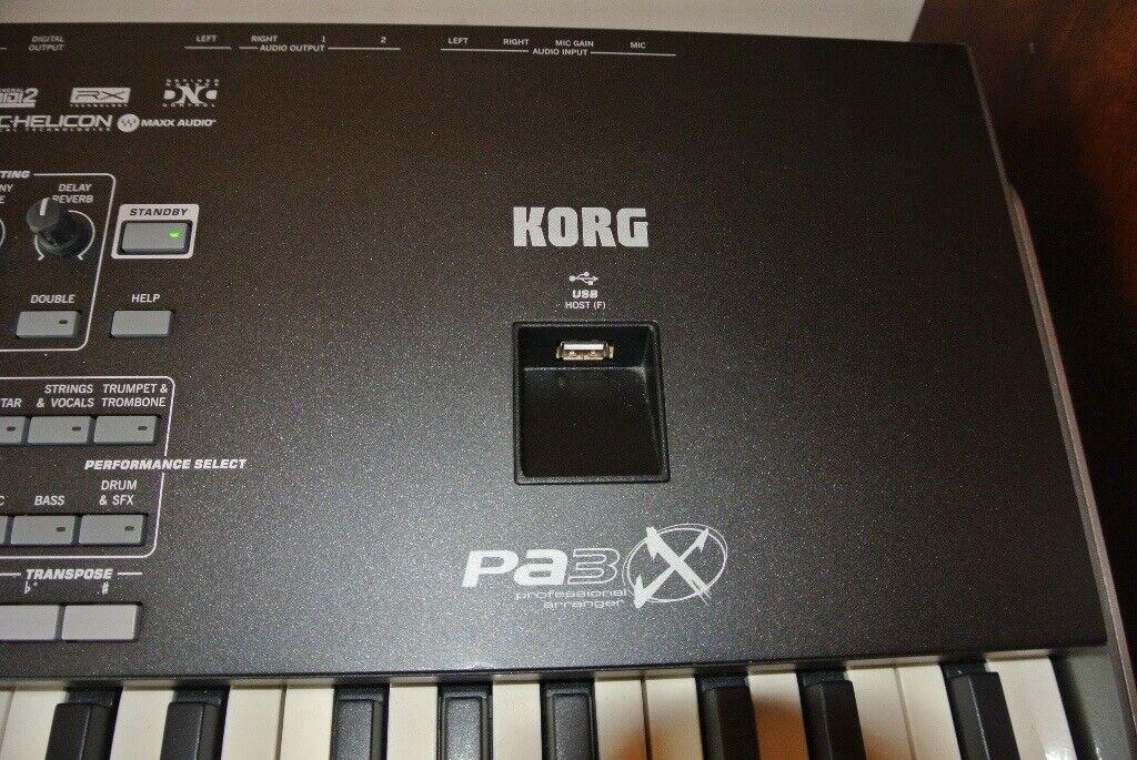 Korg PA3X 76 Key Arranger Keyboard | in Southside, Glasgow | Gumtree