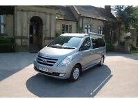 Hyundai i800 4 berth campervan with 5 belted seats