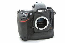 Nikon D3 full frame pro digital camera body