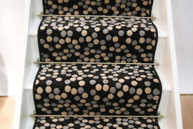 Stair runners and hall runners, factory stock