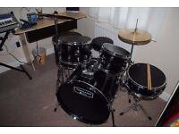Mapex Tornado III 22'' Rock Drum Kit, Black