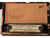 Vintage Valve Radio Ekco A320A (requires restoration)