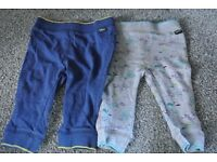 Boys Ted Baker Joggers x 2 6 - 9 months