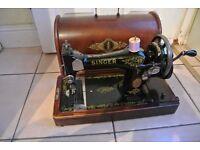 Vintage 28K Singer Sewing Machine