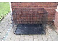 Dog cage for large dog