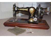Jones Sewing Machine 1920's Black