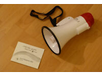 megaphone BRAND NEW UNUSED IN BOX
